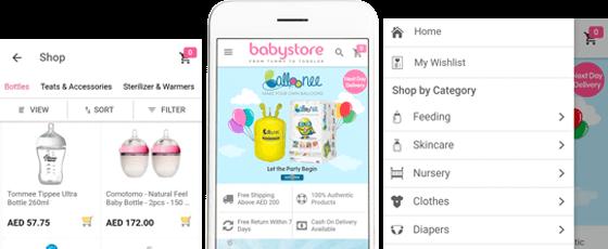 Babystore App